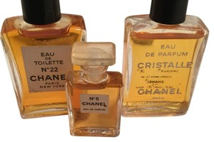 Chanel Authentic Chanel Fragrance Mini Bottles Eau de parfum/toilette