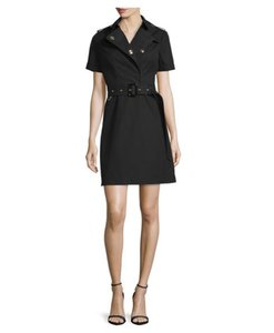 Burberry Prorsum short dress Black Trench Coat on Tradesy