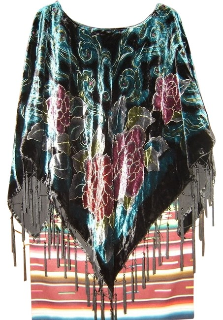 Preload https://item4.tradesy.com/images/coldwater-creek-multicolored-womens-brand-embellished-beaded-velvet-dressy-evening-ponchocape-size-o-2054448-0-0.jpg?width=400&height=650