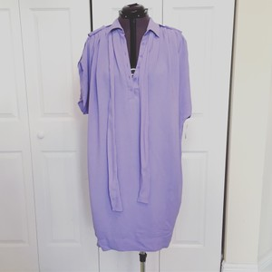 Diane von Furstenberg short dress Lavender Shirt Dvf on Tradesy