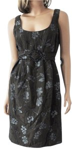 Eva Franco Crystal Midnight Garden Dress