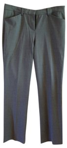 Theory Pant Straight Flare Trouser Trouser Pants Grey