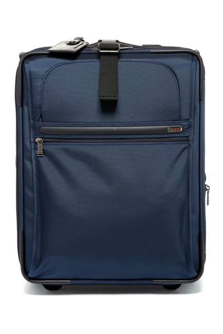 Item - Continential Navy Blue Nylon Weekend/Travel Bag