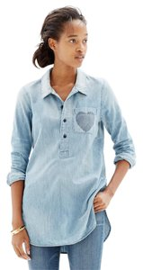 Madewell Shirt Faded Tunic