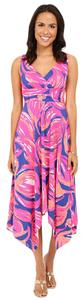 Bomber Blue Plume Bloom Maxi Dress by Lilly Pulitzer Sloane Midi