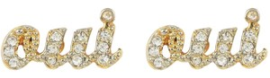 Juicy Couture JUICY COUTURE OUI STUD EARRING Gold
