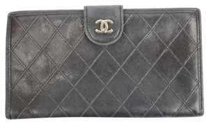 Chanel [ENTERPRISE] Quilted Classic Wallet Kisslock CCWLM1 57CCA608