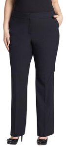 Sejour Curvy Fit Suit Stretch Wide Leg Pants Black