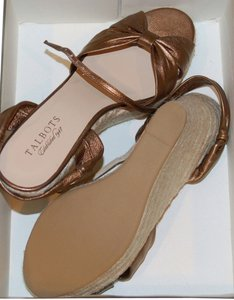 Talbots bronze Wedges