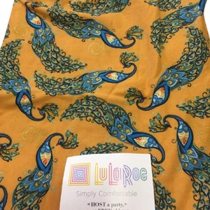 LuLaRoe Peacock TC Leggings New multi Leggings