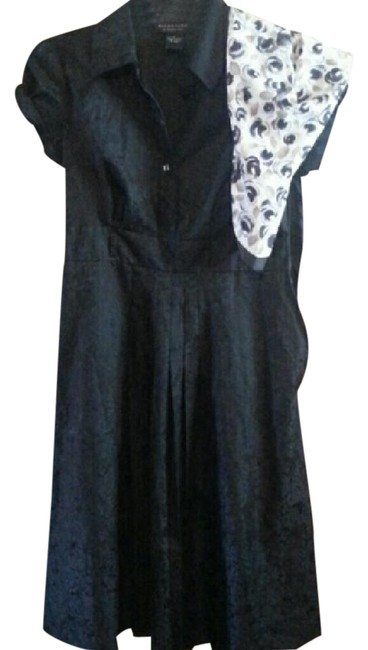 Preload https://img-static.tradesy.com/item/20544898/signature-by-robbie-bee-black-beefree-scarf-mid-length-cocktail-dress-size-8-m-0-1-650-650.jpg