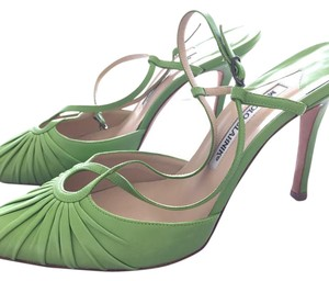 Manolo Blahnik lime green Formal