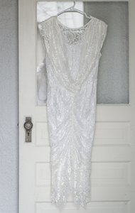 Fitted Drape Lace Wedding Dress