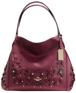 Coach Willow Willow Edie Tote in Burgundy