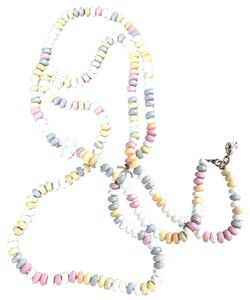 Chanel candy multi color sold out coveted double length necklace
