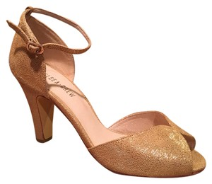 Chelsea Crew Gold Fine Dining Metallic Heels In Formal Shoes Size Us 8 5 Regular M B Tradesy