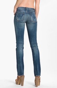 Citizens of Humanity Straight Leg Jeans-Distressed