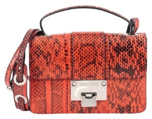 Jimmy Choo Python Cross Body Bag