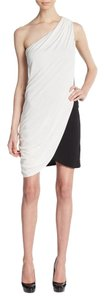 Ramy Brook short dress Ivory/Black on Tradesy