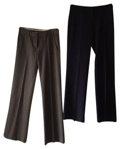 Theory Trouser Pants 1 navy and 1 gray mix/blend