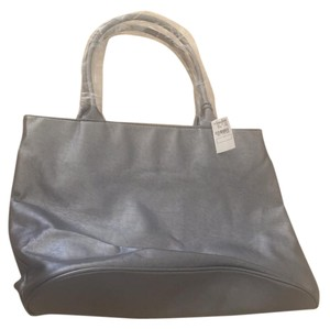 Neiman Marcus Large Tote in silver