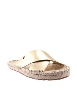 Tory Burch Leather Gold Sandals