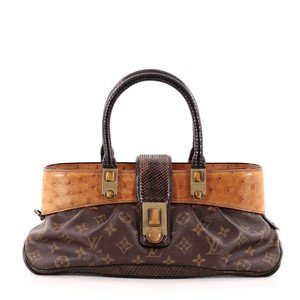 Louis Vuitton Canvasandexotics Shoulder Bag