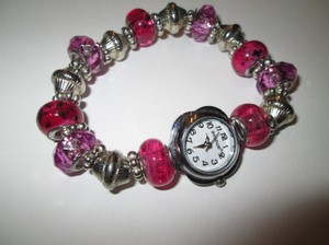 Avenue Pretty pink watch/bracelet.