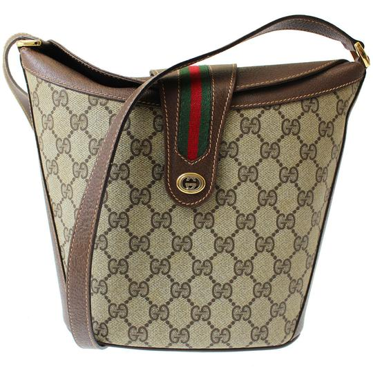10adbecc9104 High End Purses Leather Green N Red. Gucci Vintage Purse/Designer Purses  Brown Leather & Brown Large G Print Coated Canvas with