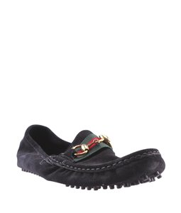 Gucci Wen Suede Loafers Green,Red,Black Flats