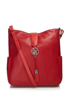 Armani Jeans Sale Tote in Red