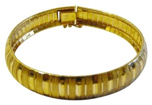 Technibond Technibond Textured High Polish Line Bracelet 7 1/2