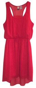 Love on a Hanger short dress Red on Tradesy