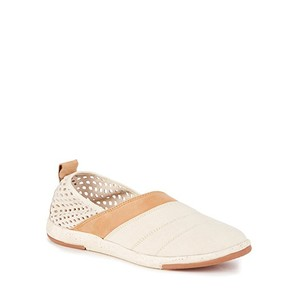 EMU Leather Sneakers Comfort NATURAL Flats