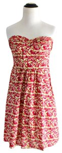American Eagle Outfitters short dress Strapless Floral on Tradesy