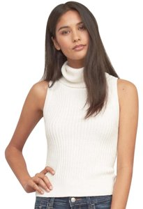 Abercrombie & Fitch Sleeveless Turtleneck Sweater