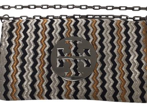 Tory Burch Metallic Clutch
