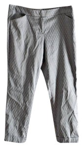 New York & Company Capri/Cropped Pants silver