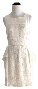 Sugarlips Lace Peplum Dress