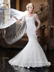 Mary's Bridal Mary's Bridal Gown 6365 Wedding Dress