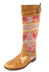 Candela Leather Knee Tribal Tan Boots