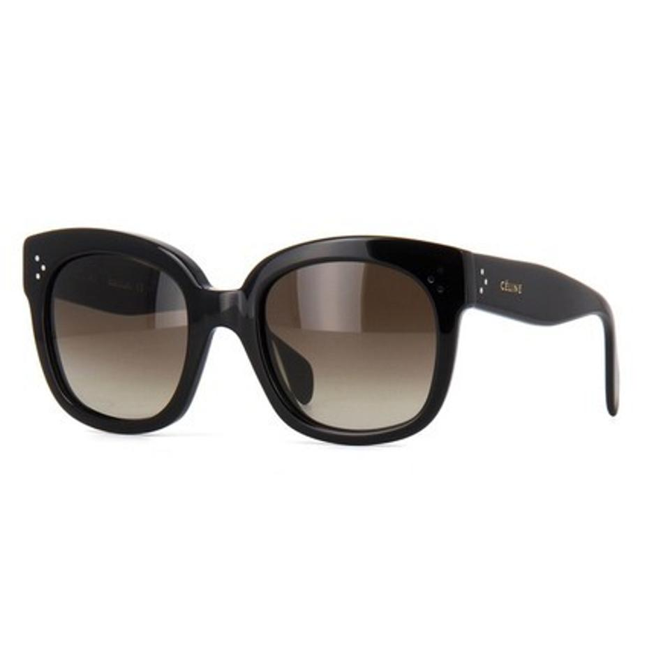 1e3103f80bb Céline Black New Audrey Sunglasses - Tradesy