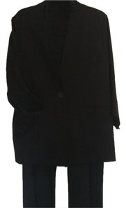 CAbi Ponte twill turner jacket overlay pencil skirt and top-notch trouser 3 piece suit