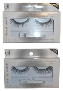 e.l.f. Natural Lash Kit #1713 + Dramatic Lash Kit #1714 False Eyelashes