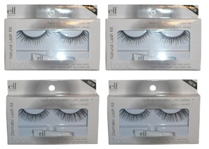 e.l.f. Two (2) Each False Eye Lash Kits: Natural #1713 + Dramatic #1714