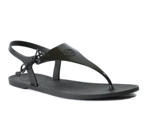 Gucci Thong Sandal Black Sandals
