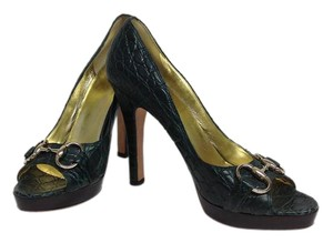 Gucci Limited Edition Green Pumps