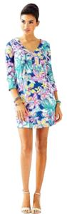 Lilly Pulitzer short dress casa azul print on Tradesy