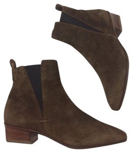 Aquatalia by Marvin K. Italy Italian Suede brown Boots