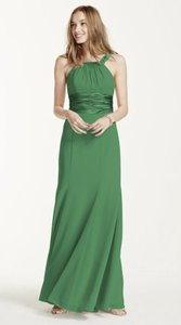 David's Bridal Green Clover F12732 Dress